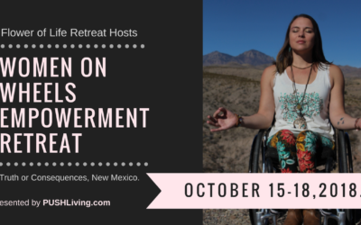 WOW Women on wheels empowerment retreat in New Mexico!