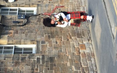 Edinburgh Castle—Hello Scotland!
