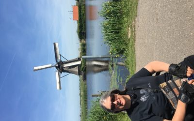The Netherlands: canals, windmills and harbors.